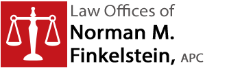 Law Offices of Norman M. Finkelstein, APC Header Logo